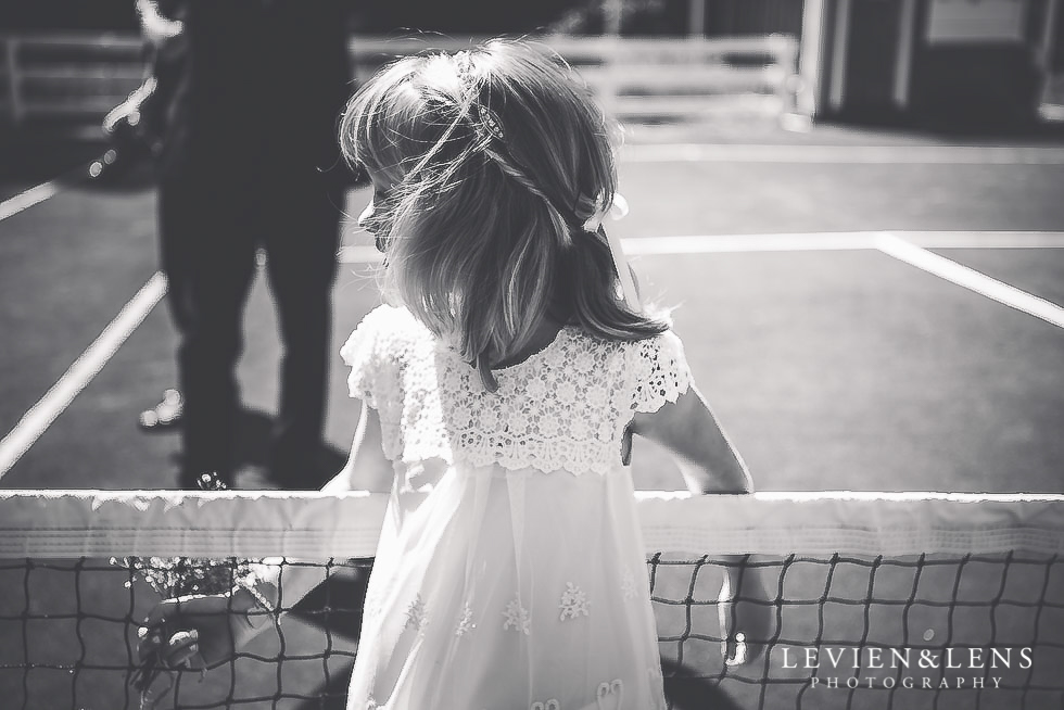 girl on tennis court - Old Forest School Vintage Venue {Tauranga - Bay of Plenty wedding photographer}