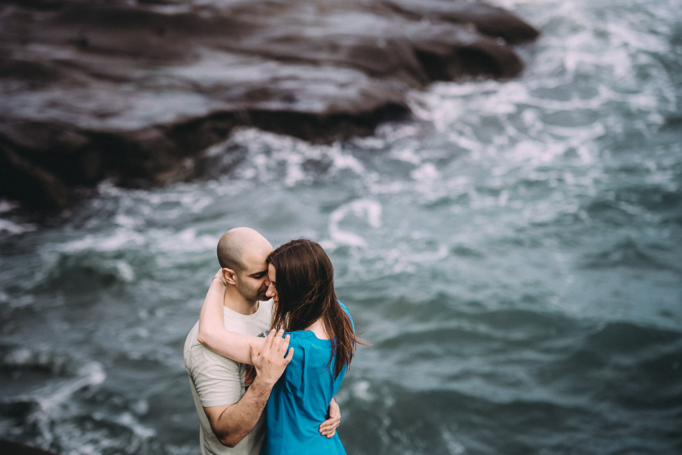 Muriwai Beach engagement session - Lace and Loyalty - Levien and Lens photography