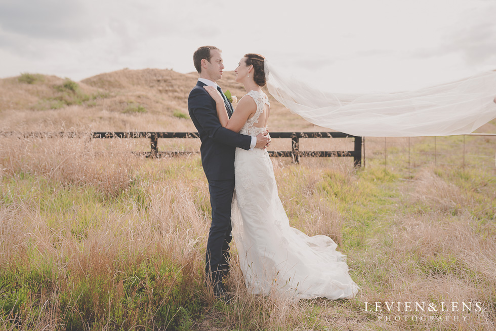 bride and groom at farm - Wedding Anniversary {Auckland wedding - photographer} Castaways