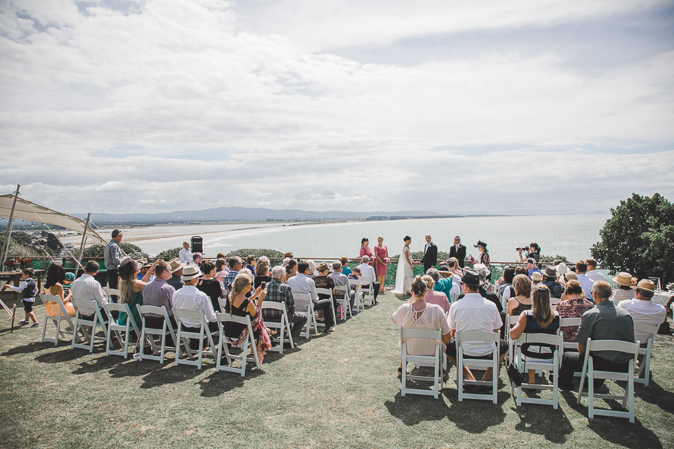Maketu Beach classic backyard wedding {Tauranga weddings photographer}