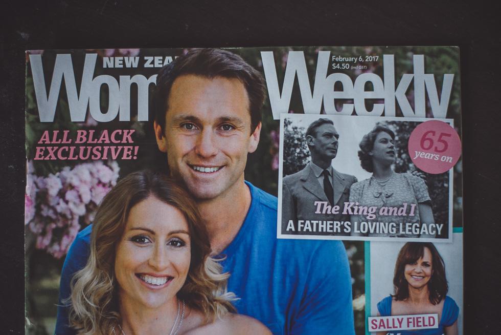 Bride of the Week in Woman's Weekly Magazine - Hana {New Zealand wedding photographer} Your weddings