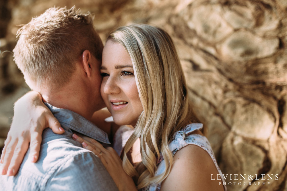 Pre-wedding engagement beach photo shoot {Auckland weddings photographers}