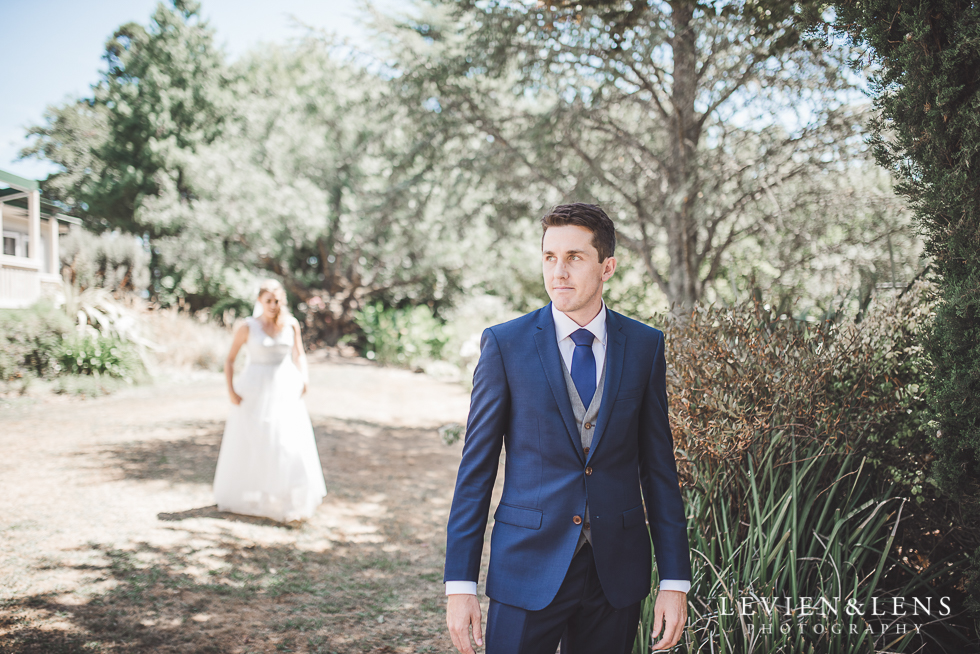 first look {Auckland wedding photographers}