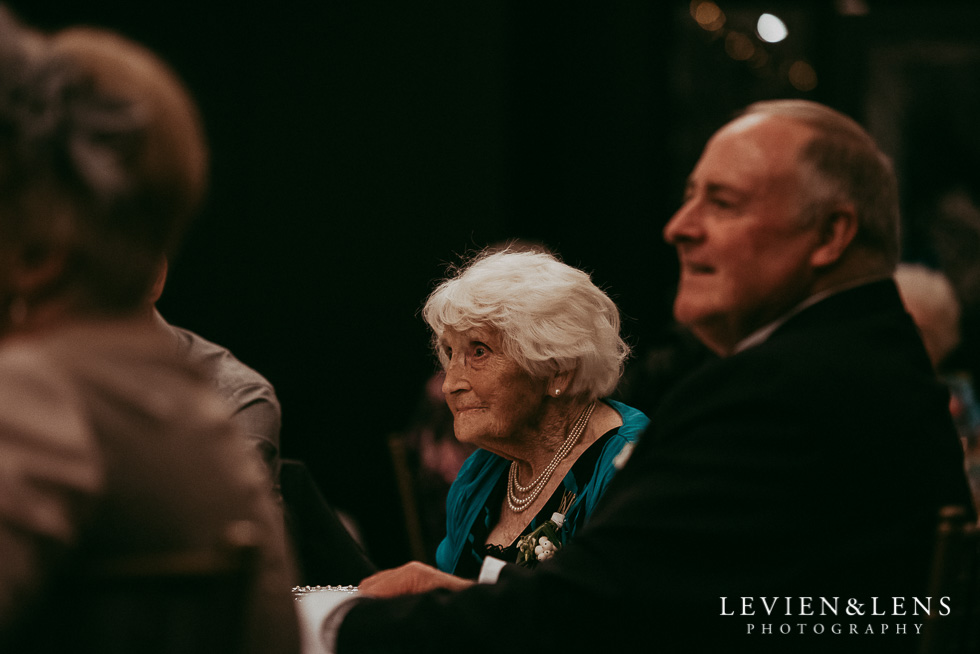 grandparent at reception