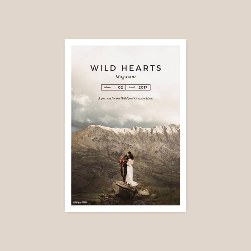 Wild Hearts magazine {Levien and Lens photography feature - Auckland wedding photographers}