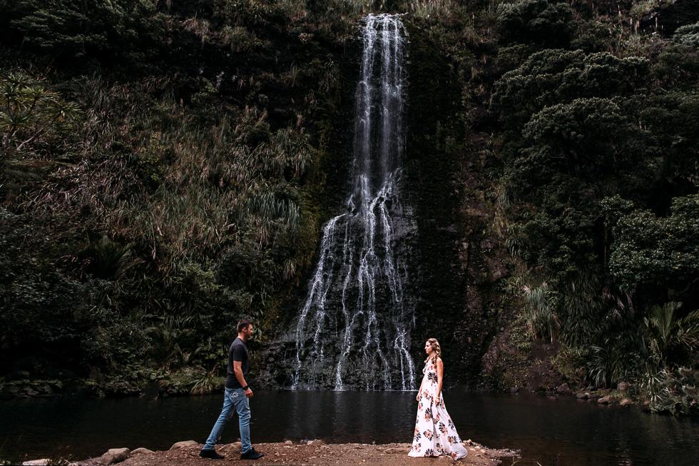 New Zealand epic engagement session {Auckland wedding photographers}