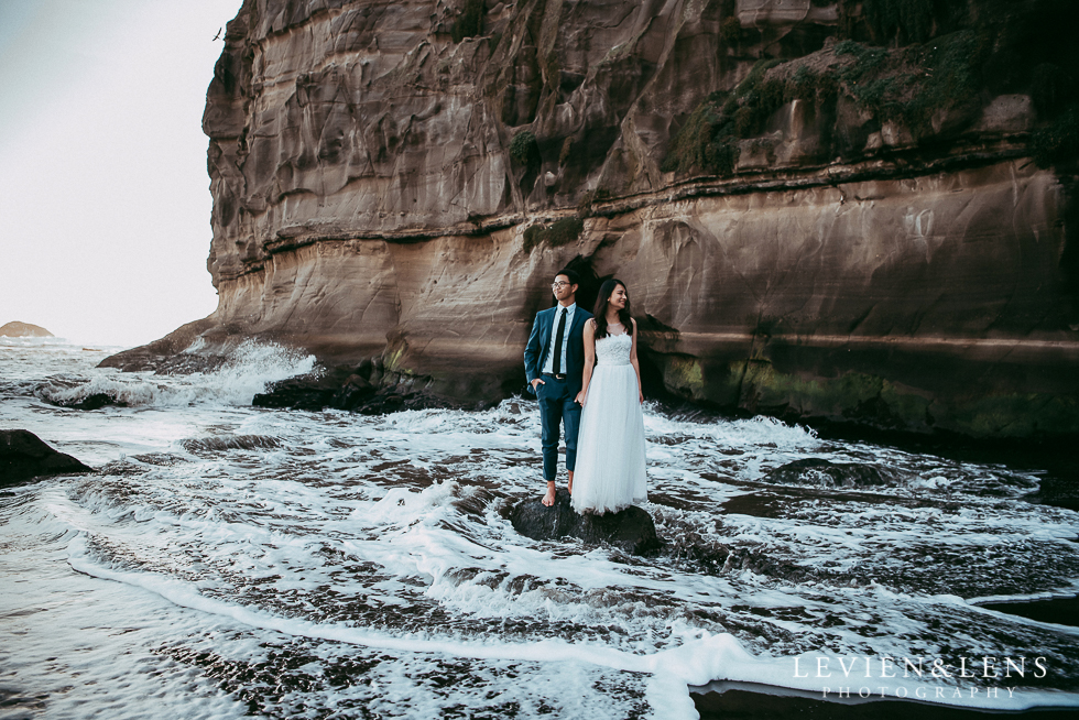 The Babetown Collective - Dreamy New Zealand Nuptials - publication {Auckland wedding photographers} Levien