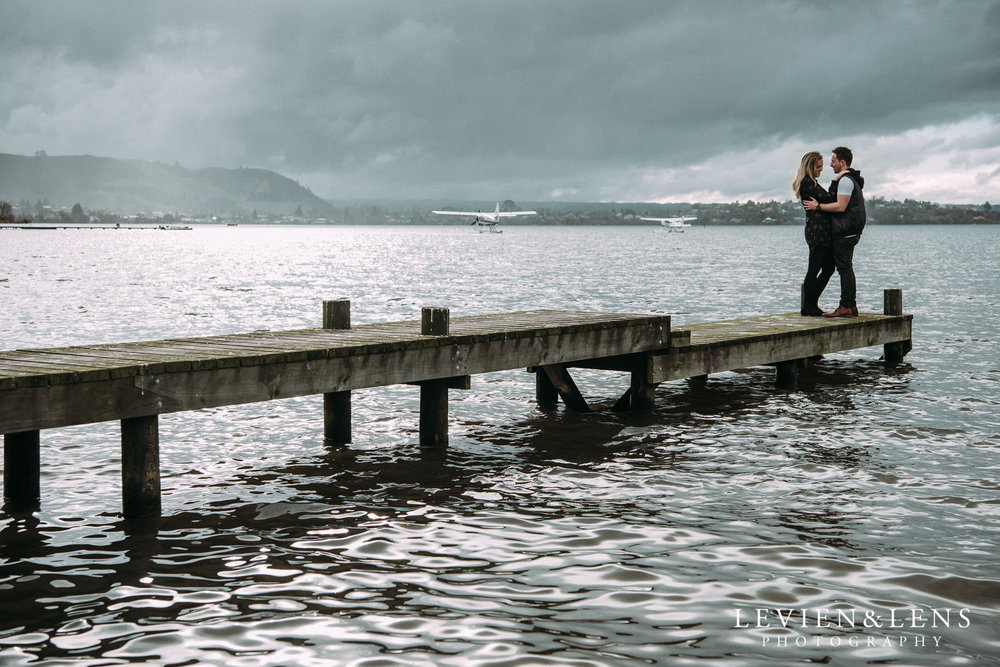 Redwood Forest - Lake Rotorua engagement session {Waikato - Bay of Plenty wedding photographers}