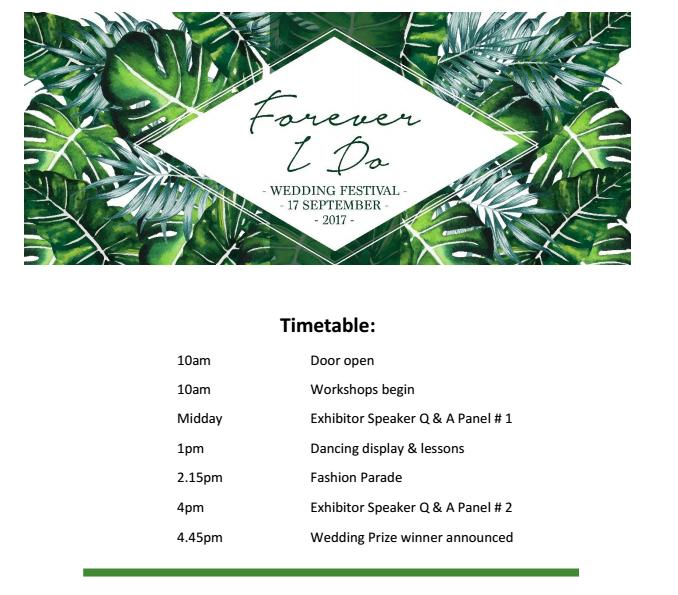 Forever I do wedding festival - Levien & Lens photography
