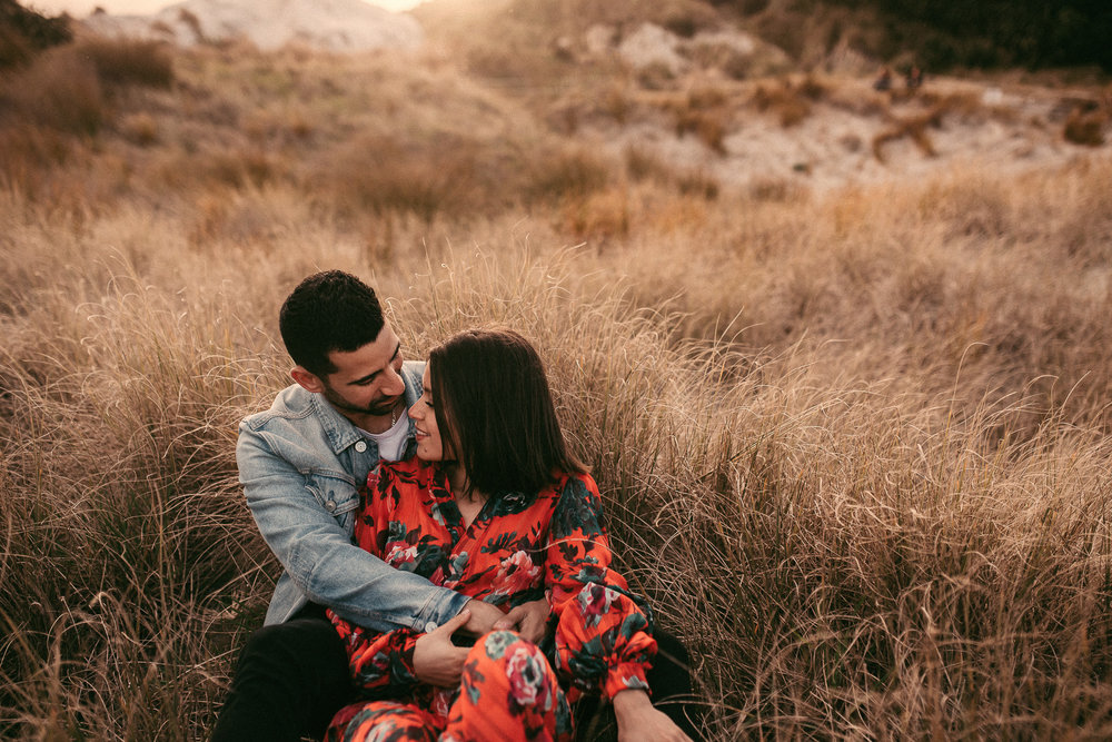 Mangawhai Heads Beach Couples Session {Northland New Zealand pre-wedding photographer}