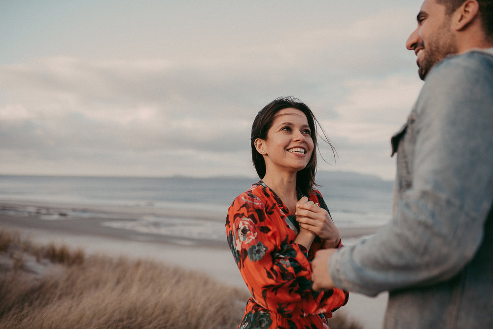 Mangawhai Heads Beach Couples Session {Waikato - Bay of Plenty New Zealand pre-wedding photographer}