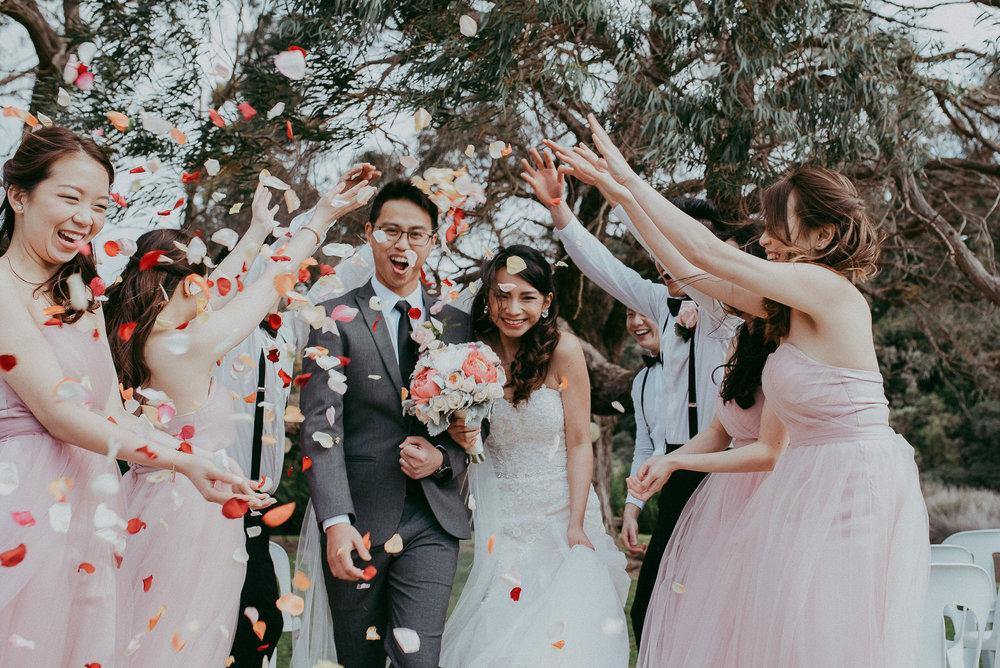 Emotional and natural candid wedding photos - Auckland New Zealand weddings photographer