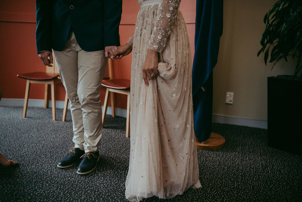 Auckland City Elopement {New Zealand wedding photographers}