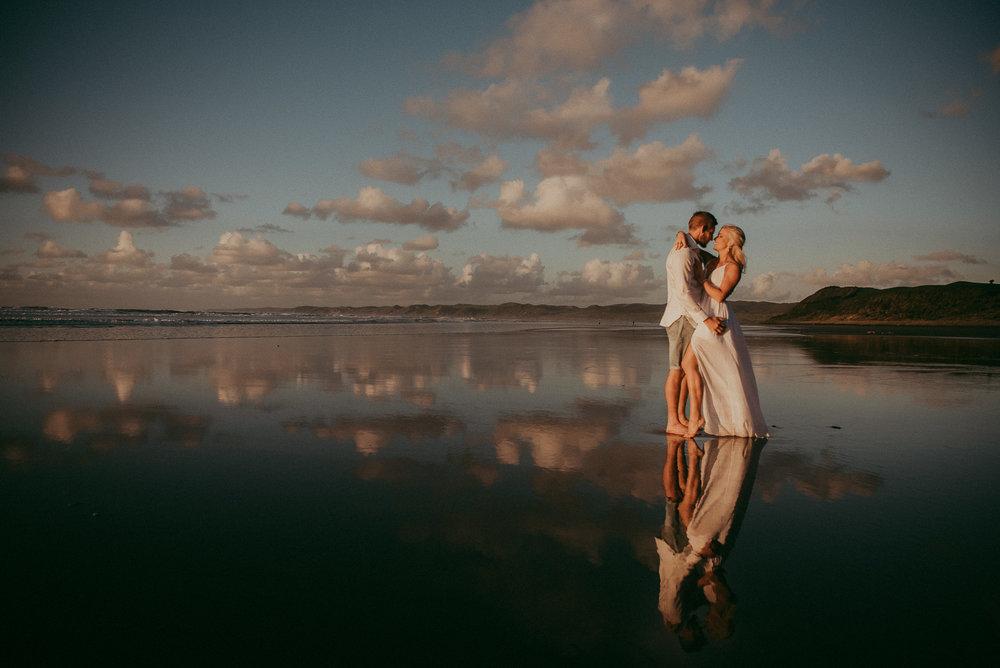 Jenna & Brodie,  Raglan Beach {Waikato, NZ}