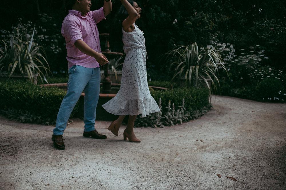 Auckland pre-wedding | engagement session - {New Zealand wedding photographer} Parnell Rose Garden