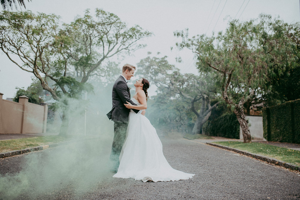 Auckland City wedding {New Zealand weddings photographers}