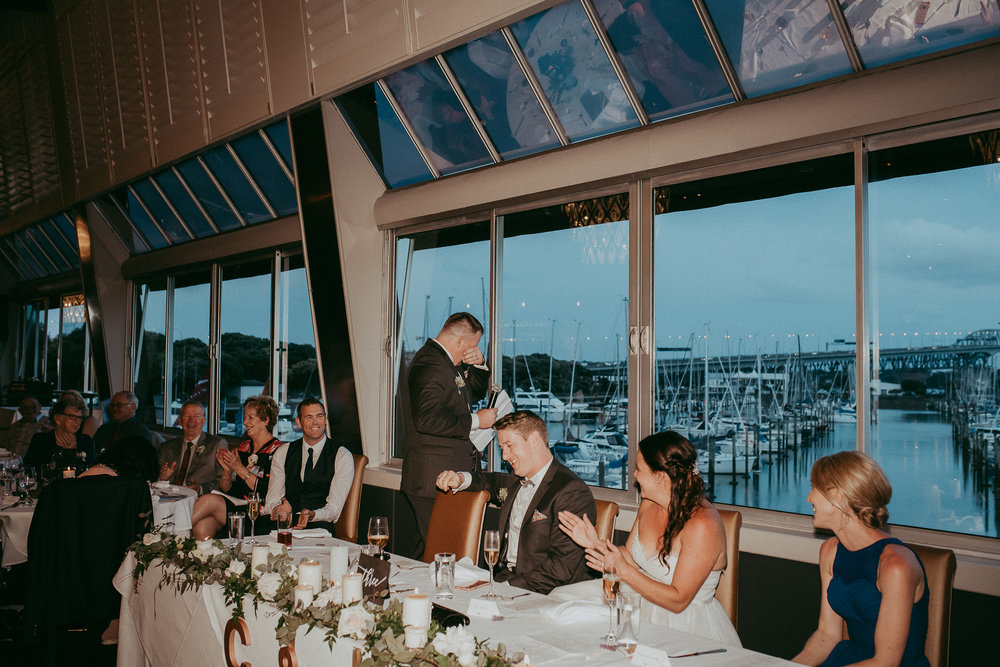 Sails - Auckland City wedding - natural documentary top weddings photographers