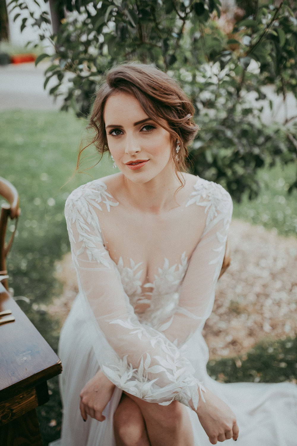 bride at MOTAT - styled shoot by Levien and Lens photography