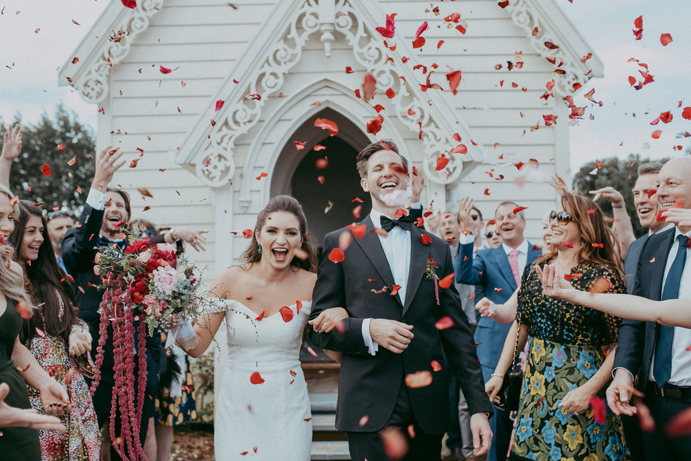 Alexandra & James , St Andrews Church; The Stables {Matakana}
