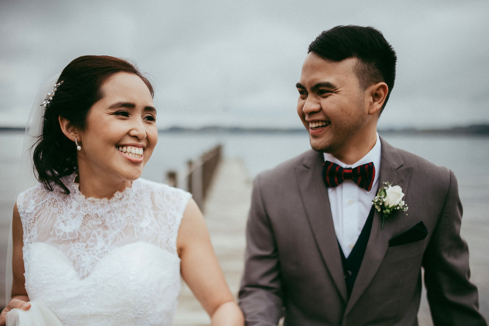 Charmaine & Carlo,  The Moose Lodge {Rotorua}