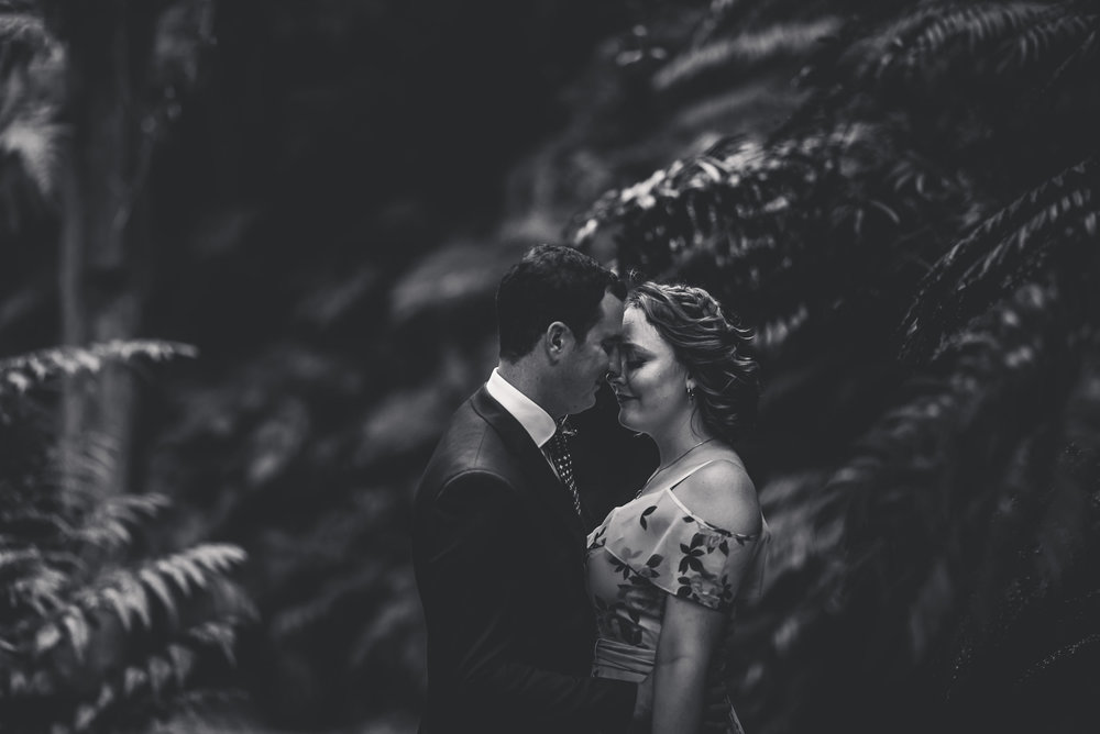 Auckland Domain Skycity elopement {New Zealand wedding photographer}