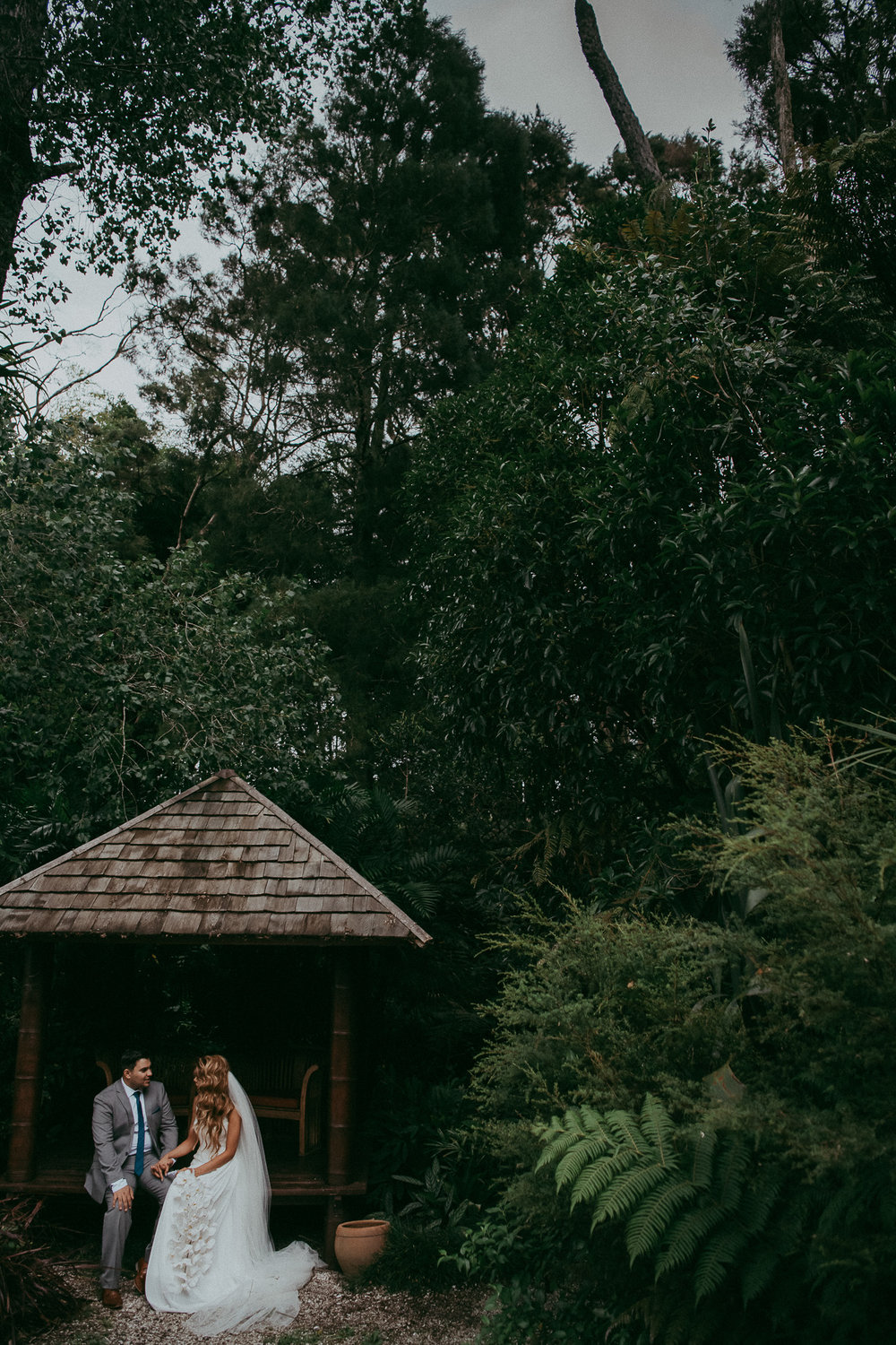 Landsendt Tropical Garden {Auckland wedding photographer}