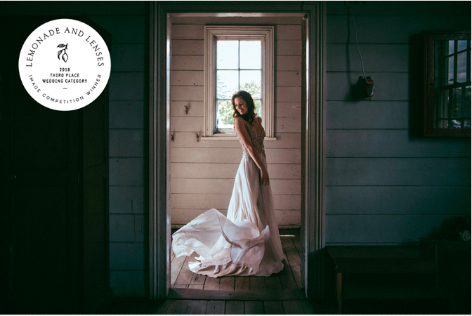 Lemonade and Lenses contest winner - award - Auckland wedding-elopement photographer}