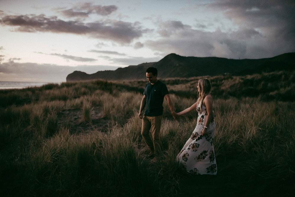 Auckland pre-wedding engagement photographer