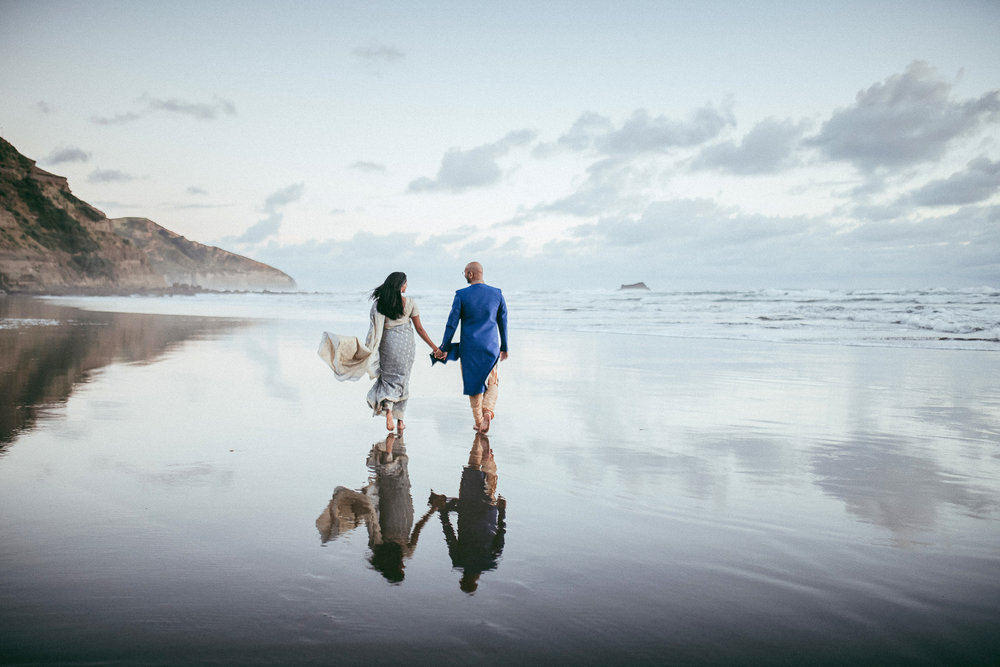 Auckland engagement photographer | New Zealand pre-wedding photography