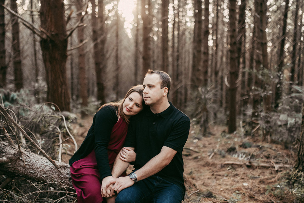 Amanda & Tim , Riverhead forest