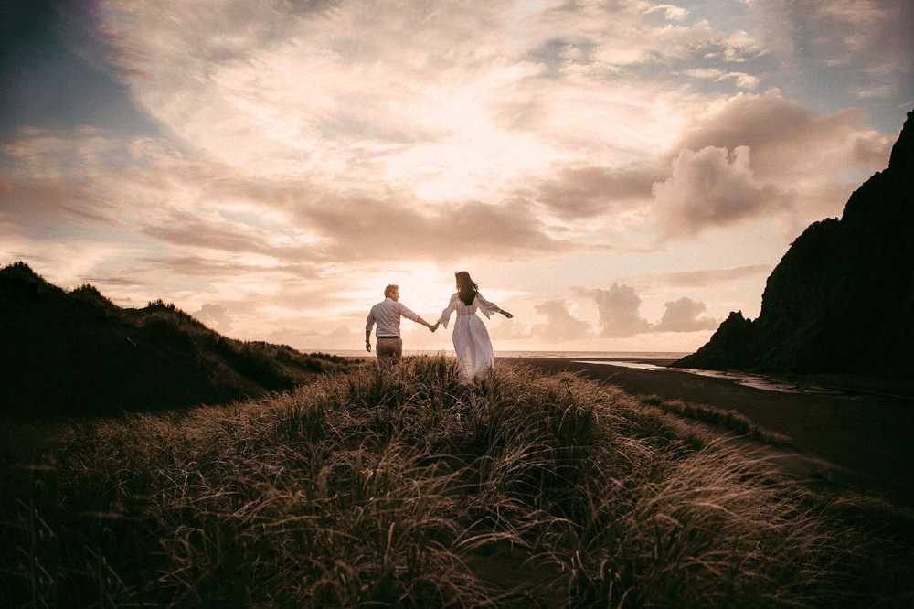 New Zealand pre-wedding session