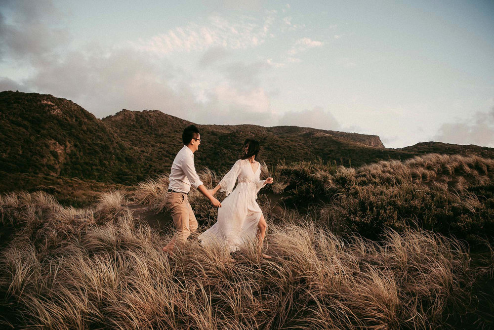 pre-wedding photography New Zealand {Auckland engagement photographer}