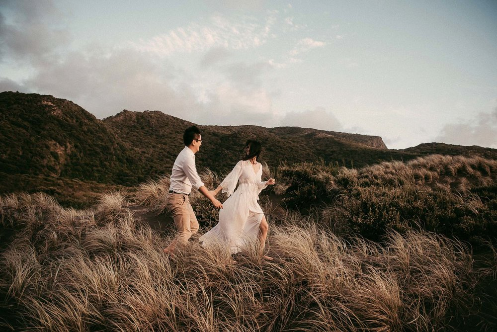 the travelling dress collective project {New Zealand pre-wedding photographer}