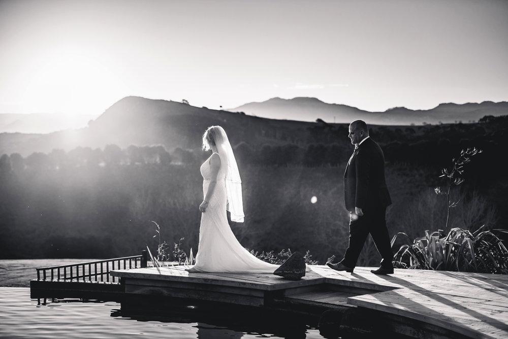 Christie & Jason , Tawharanui wedding