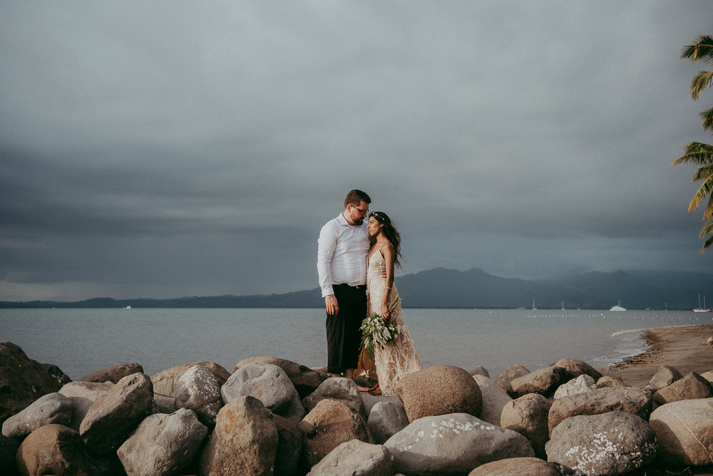 Divya & Gino , Fiji wedding