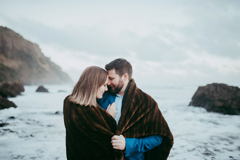 Winter engagement session Sneak Peek: Courtney and Jason {wedding photographers in Auckland}