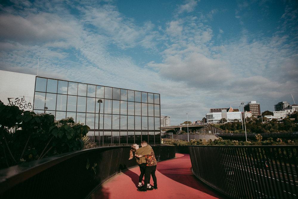 Auckland City Engagement Photo Shoot {New Zealand wedding photographer}