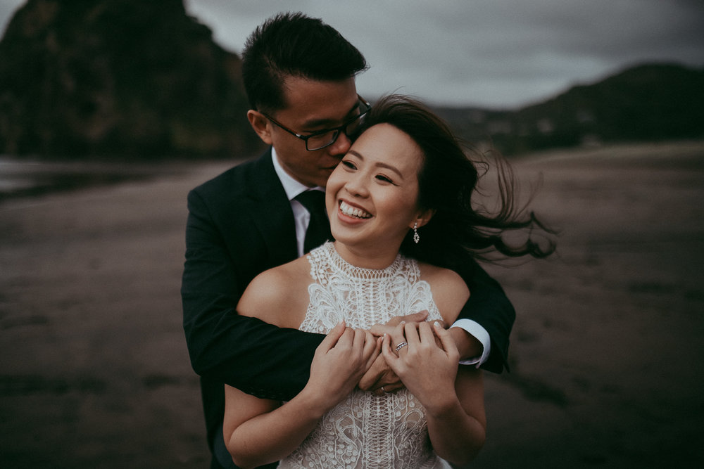 Junice & Terrance , Auckland City + Piha Beach