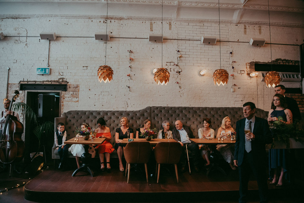Auckland wedding photographer - Everybody's - city cafe venue