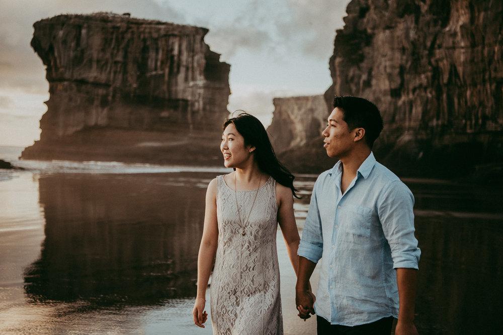 Auckland engagement photo shoot | weddings photographers