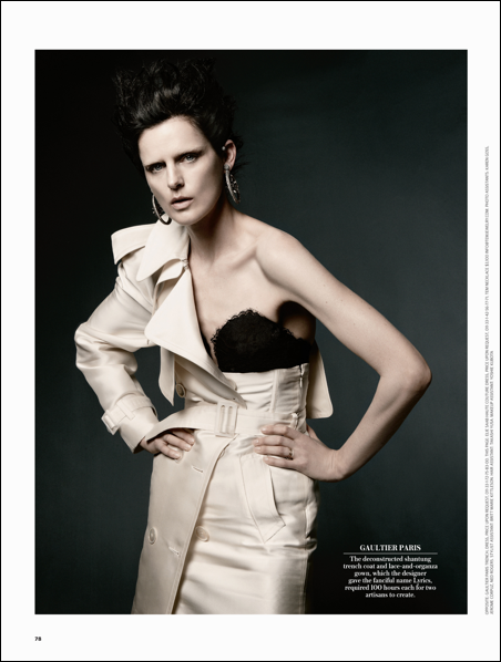 Dream Weavers| Stella Tennant by Daniel Jackson for WSJ May 2012!