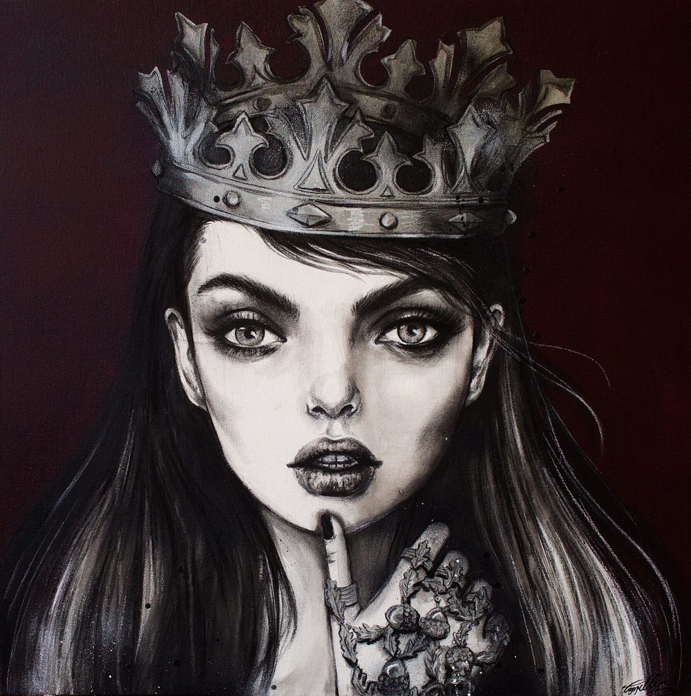 'Pewter Princess' by Pippa McManus
