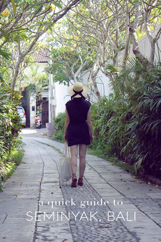 Quick Guide to Seminyak Bali