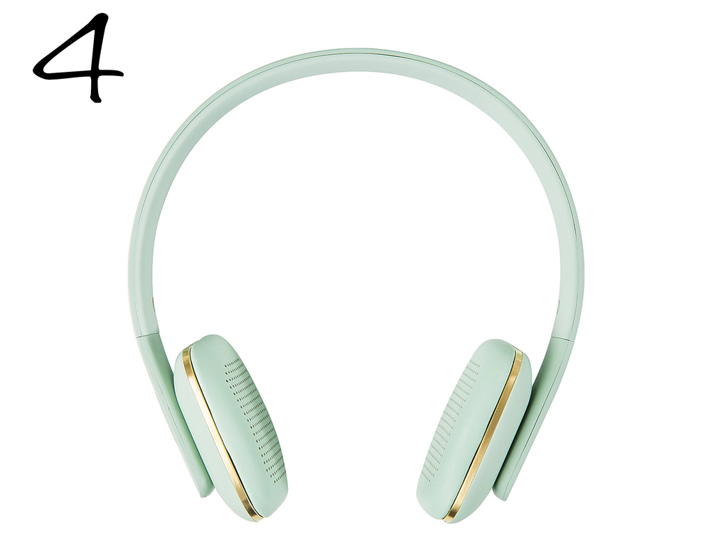 aHEAD Green - Bluetooth Headphones
