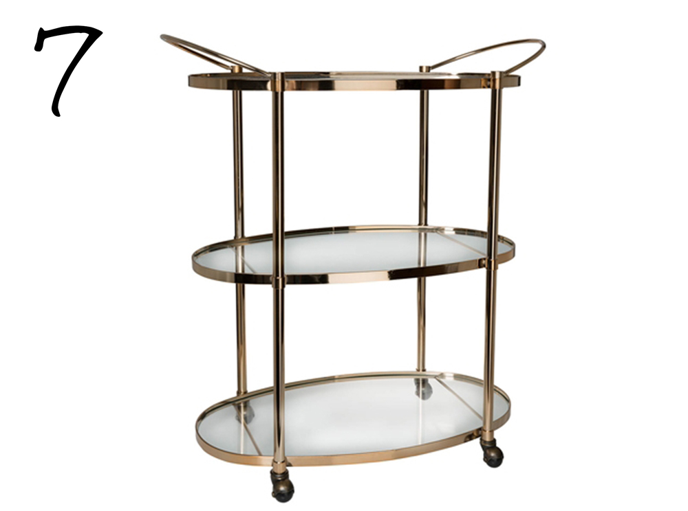 Freedom Ritz 3 Tier Drinks Trolley