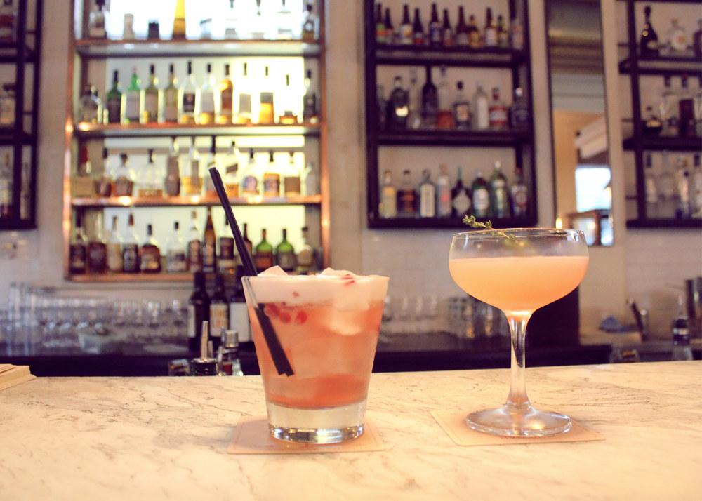 Trunk's Winter Cocktails: Pomegranate Vanilla Sour & Figgy Smalls