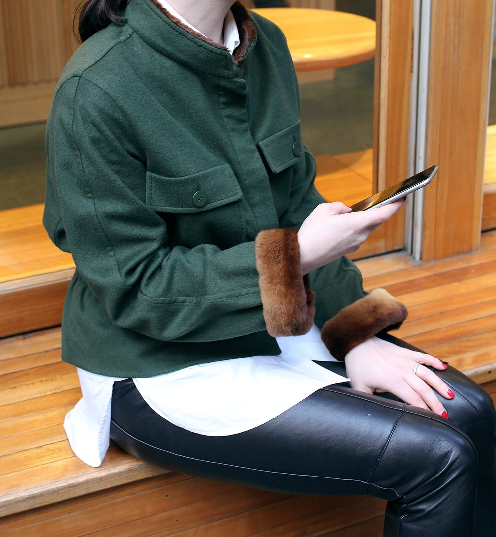 Vintage Valentino Jacket Lei Lady Lei