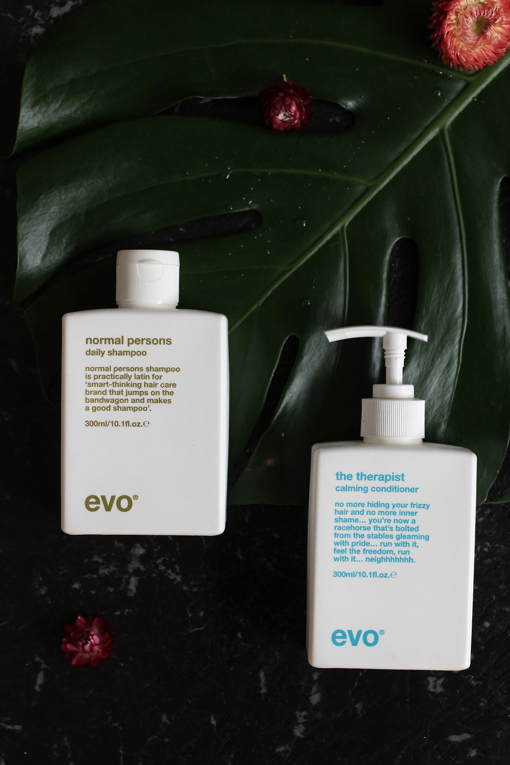 Evo Normal Persons Daily Shampoo & Therapist Calming Conditioner