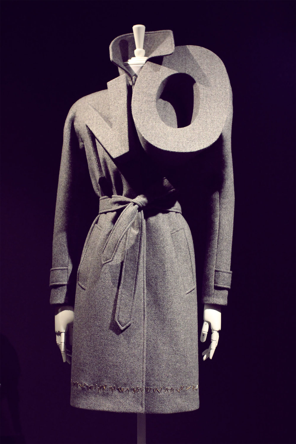 'NO' - Fashion moves too fast, so they incorporated their thoughts into the clothing