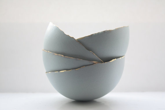 Blue Porcelain Bowl by madebymanos